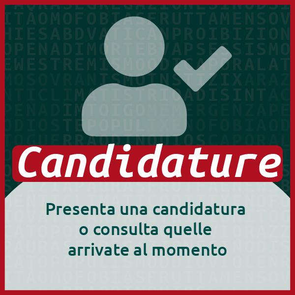 Candidature - Presenta una candidatura o consulta quelle arrivate al momento